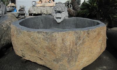 露天風呂 工事 貸切 風呂 温泉 石材
